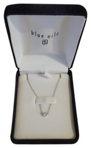 Blue Nile White Gold Necklace