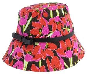 Kate Spade Pink Rio Tropical Floral Bucket Hat