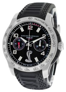 David Yurman David Yurman Carroll Shelby Mustand 1000 Cobra T829-C Limited ED. Chrono Watch