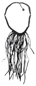 BCBGMAXAZRIA Fringe chain necklace