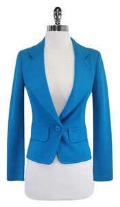 St. John Blue Wool Jacket