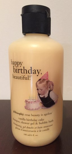 Sephora Philosophy Vanilla Birthday Cake Shampoo Shower Gel Bubble