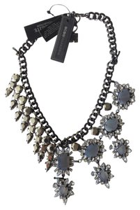 BCBGMAXAZRIA Elegant Chain Collar Necklace