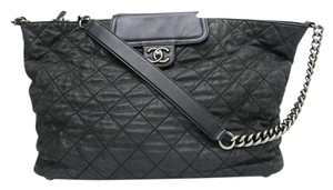 Chanel In The Mix Large Shopping Tote Shoulder Bag