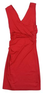 Diane von Furstenberg short dress Red Parker Sleeveless on Tradesy