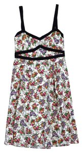 Nanette Lepore short dress Multi Color Floral Print on Tradesy