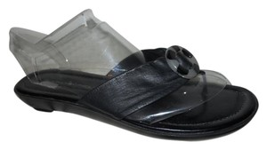 Bandolino Leather Thong black Sandals