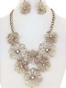 DaVinci Bridal Statement Necklace NE430