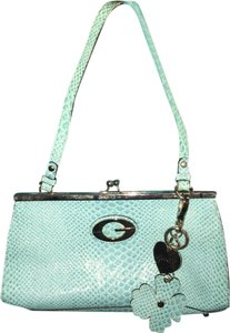 Guess Turquoise Clutch