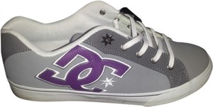DC Shoes grey and purple Athletic