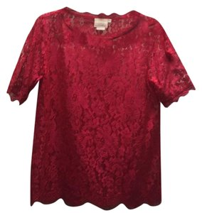 Vanessa Virginia(anthropologie brand) Top Pink/red