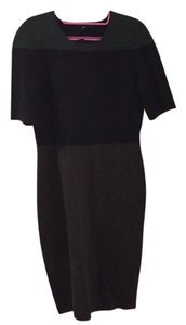 Narciso Rodriguez short dress Black green brown Knit Color on Tradesy