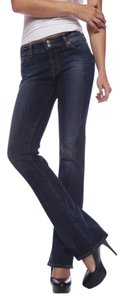 Red Engine New Dark Wash Stretchy Boot Cut Jeans-Dark Rinse
