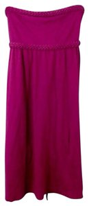 American Eagle Outfitters short dress Magenta on Tradesy
