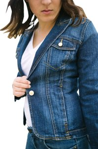 Gloria Vanderbilt Vintage Blue Denim Womens Jean Jacket