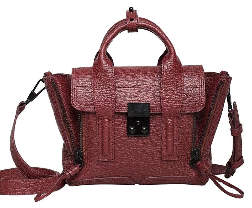Celebrities Love...3.1 Phillip Lim Edie Studded Bag - Red ...