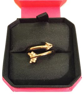 Juicy Couture Juicy Couture Pave Arrow Adjustable Ring