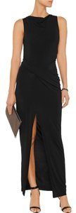 Black Maxi Dress by Helmut Lang Dvf Tory Burch Alice + Olivia
