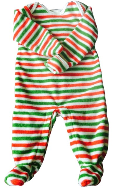 Item - Red Green & White ?????? 3-6 Month Christmas Onesie???? Maternity Activewear Size OS (one size)