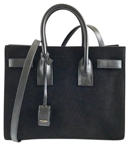 Saint Laurent Satchel in Black