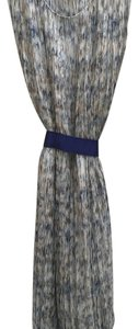 Blue and grey pattern Maxi Dress by TSE