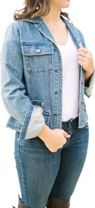 Chadwicks Vintage Blue Denim Light/Medium Wash Womens Jean Jacket