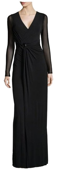 Halston Holiday New Year's Eve Sexy Evening Christmas Party Party Designer Wrap Dress
