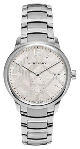 Burberry Classic Silver Round Stainless Steel Burberry Watch BU10004