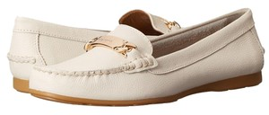 Coach Grain Leather Flats