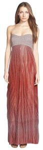 Diane von Furstenberg Dvf Mixed Media Gown Adrianna Dress