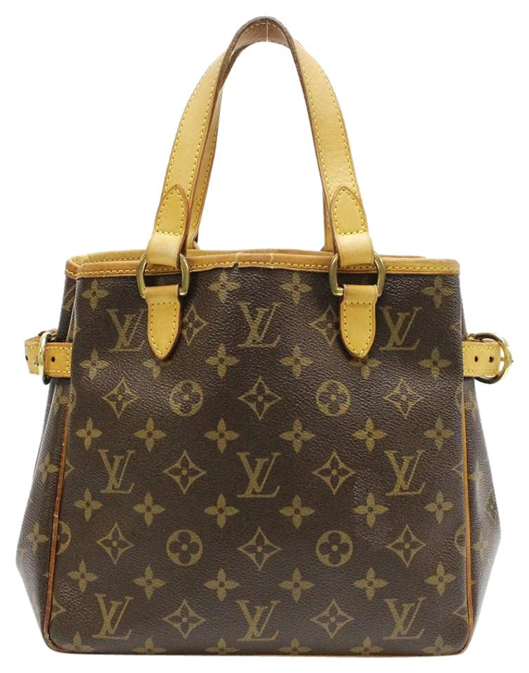 Louis Vuitton Batignolles Pm Lv Monogram Tote Stock1008274699 Satchel In Brown