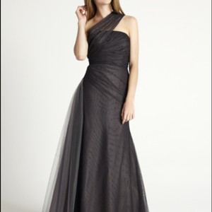 Monique Lhuillier Black / Slate 450323 Dress