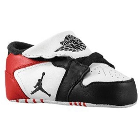 Nike Jordan White Black- Gym Red Athletic