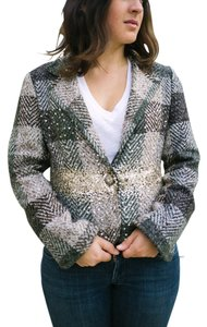 True Meaning Vintage Sequin Embellished Multi Blazer
