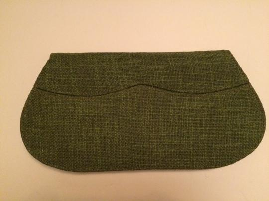 International Fashion Accessories Vintage Green Clutch