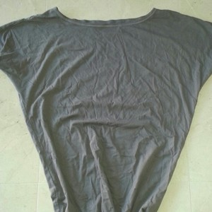 Victoria's Secret Yoga T Shirt Gray