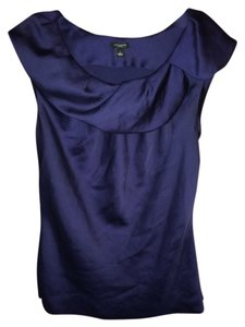 Ann Taylor Top navy blue