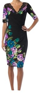 Joseph Ribkoff Floral Lace Print Dress