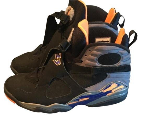 low priced 9691e 6dab9 air jordan black orange blue grey 8 retro mens 14 sneakers size us 13 regular  m b