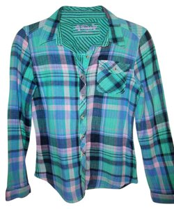 Mudd Button Down Shirt Plaid