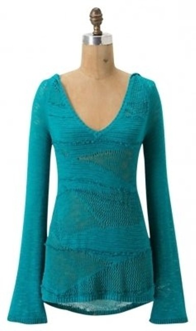 Preload https://img-static.tradesy.com/item/155529/anthropologie-blue-patched-heather-tunic-style-23816754-sweatshirthoodie-size-4-s-0-0-650-650.jpg