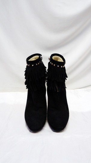 Dior Christian Suede Ankle Black Boots