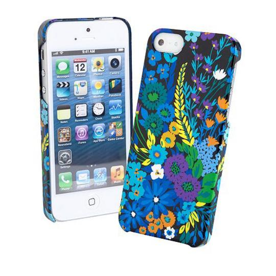 Vera Bradley Vera Bradley Slide Frame IPhone 5 Case Nwt Midnight Blues