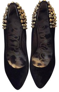 Sam Edelman Black/gold Platforms