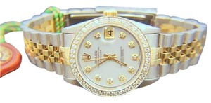 Rolex ROLEX DATEJUST 31MM MIDSIZE DIAMOND WATCH WITH ROLEX BOX AND APPRAISAL