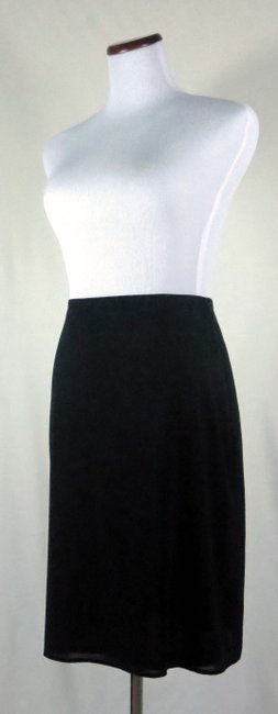 The Limited Lined Stretch Career/Club/Casual Classic A Line Skirt Black Image 1