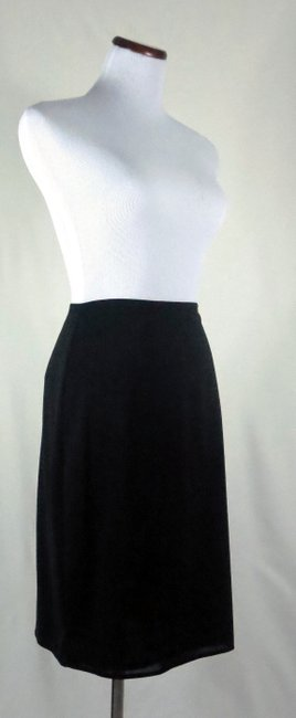The Limited Lined Stretch Career/Club/Casual Classic A Line Skirt Black Image 2