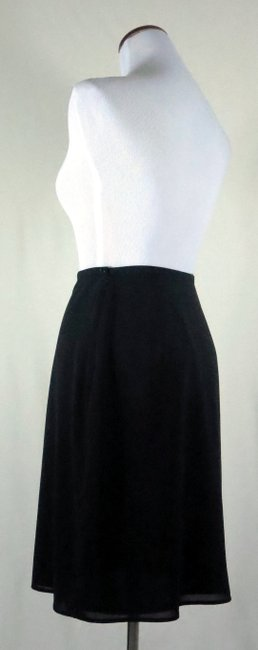 The Limited Lined Stretch Career/Club/Casual Classic A Line Skirt Black Image 3