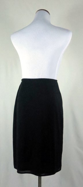 The Limited Lined Stretch Career/Club/Casual Classic A Line Skirt Black Image 4