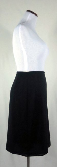 The Limited Lined Stretch Career/Club/Casual Classic A Line Skirt Black Image 6